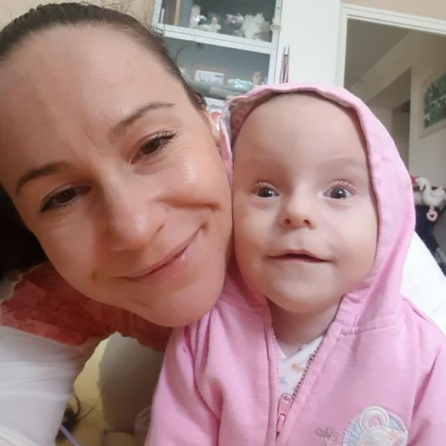 Timike és anyukája