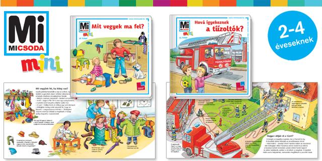 Nyerd meg a Mi MICSODA mini könyvcsomag egyikét!
