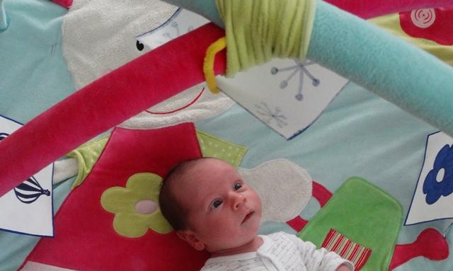 az újszülött látásának fejlesztése