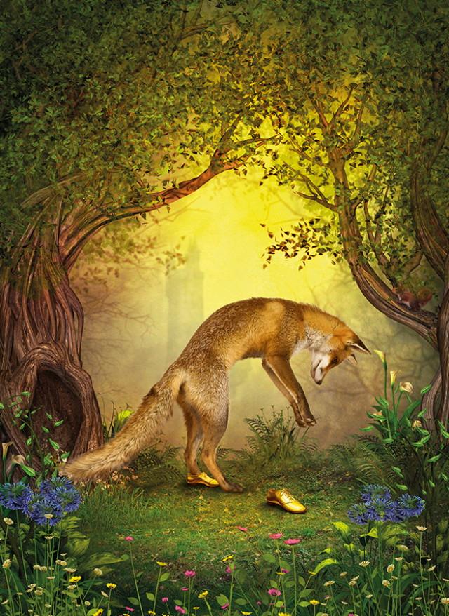 Bűvös erdő - róka