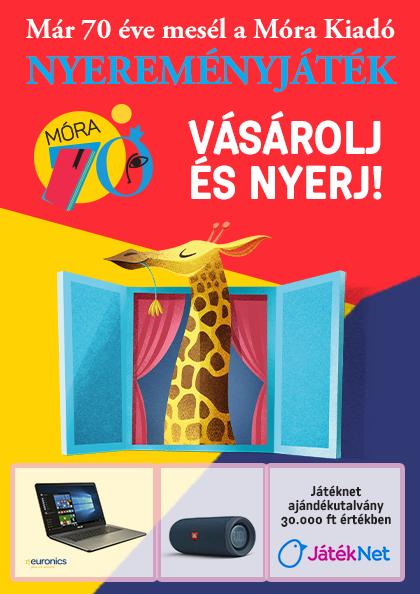 Már 70 éve mesél a Móra Kiadó - Nyereményjáték!