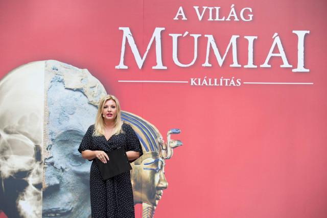 A Világ Múmiái Kiállítás - Liptai Claudia