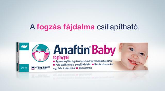 Anaftin Baby fogínygél