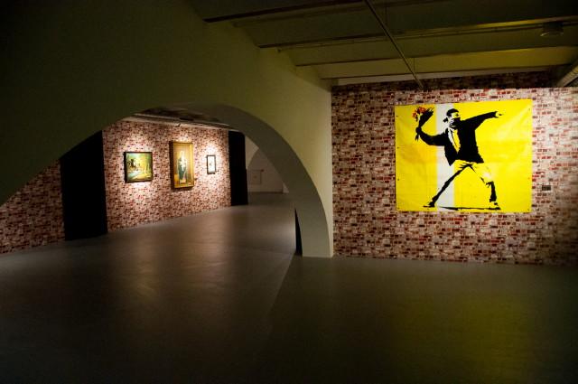 The Art of Bansky kiállítás (Amsterdam)