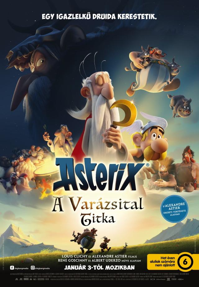 Asterix: A Varázsital titka - plakát