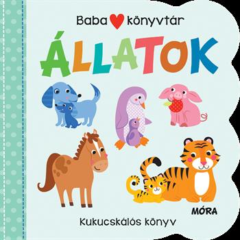 Babakönyvtár: Állatok - Kukucskálós könyv