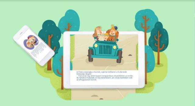 BookR Kids - Mátyás király medvét aprít