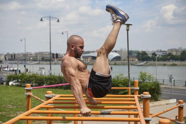 Budapest Urban Games - street workout - Pál Vilmos