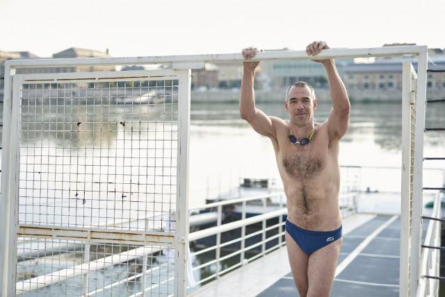 Budapest Urban Games - úszás - Újhelyi Botond