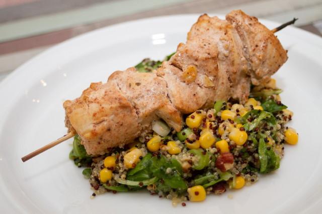 Chefbag - Johurtos tikka masala csirke zöldséges quinoa salátával