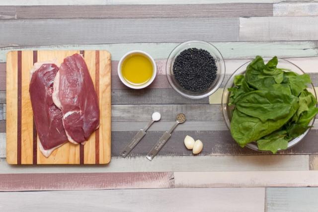 Chefbag - Kacsamell spenótos lencsével