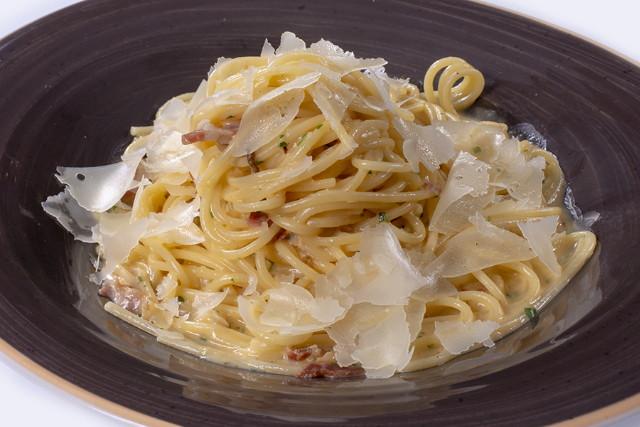 Ciao Mamma - tésztaételek: Spagetti Carbonara
