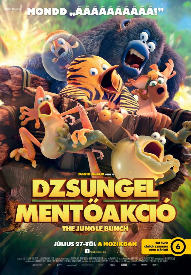Dzsungel mentőakció plakát