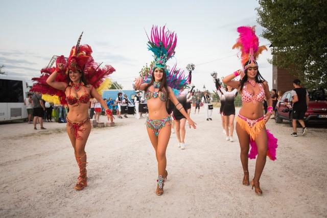 EFOTT 2019 - Karneváli táncosok