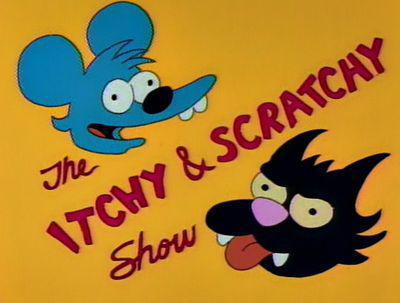Frinci és Franci (Itchy & Scratchy)