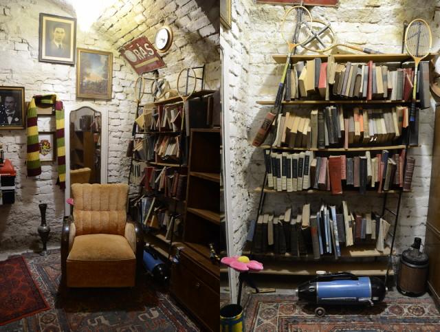 Harry Potter nyomában szabadulószoba - Könyvespolc
