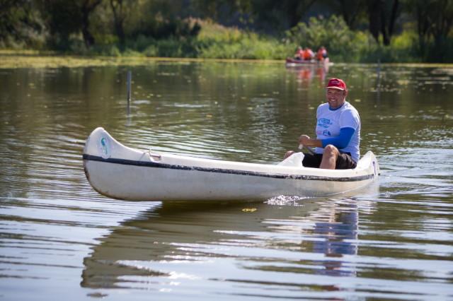Tisza-tó kenu