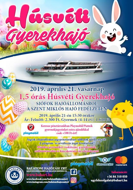 Húsvéti Gyerekhajó plakát