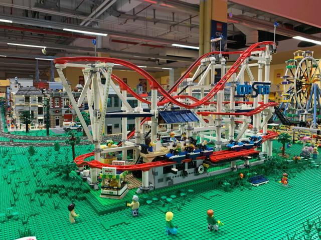 LEGO Vidámpark - hullámvasút