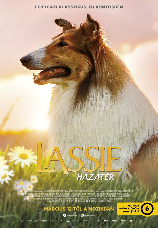 Lassie hazatér plakát