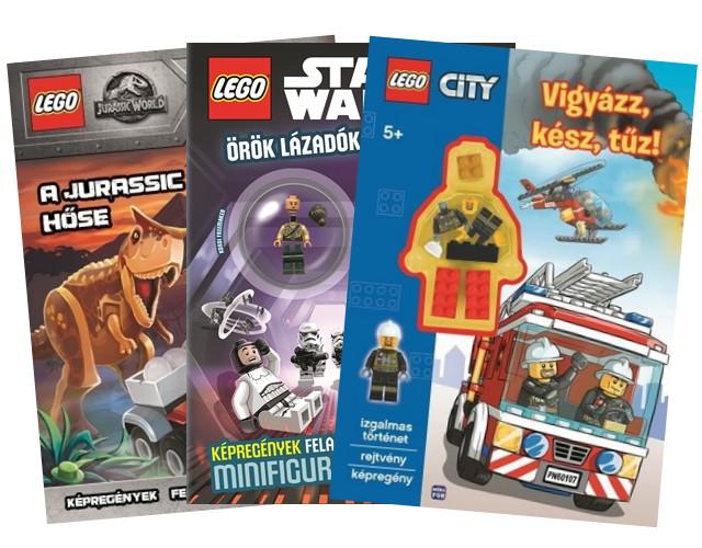 Lego fogglalkoztató füzetek