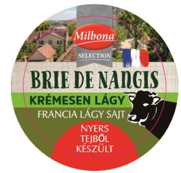 Milbona Selection, Brie de Nangis francia lágy sajt