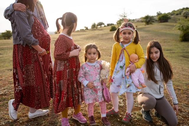 Paulina és 4 lánya