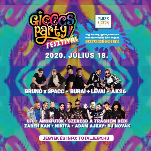 Plázs Siófok - Gicccs Party Fesztivál