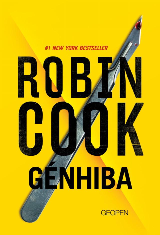Robin Cook: Génhiba borító