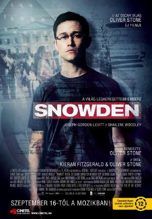 Snowden filmplakát