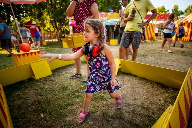 Sziget 2019 - gyerekprogram: célbadobás