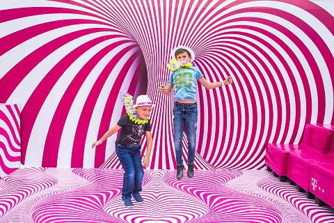 Telekom VOLT Fesztivál - ugrálóvár