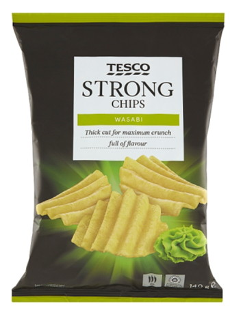 Tesco Strong Chops Wasabi