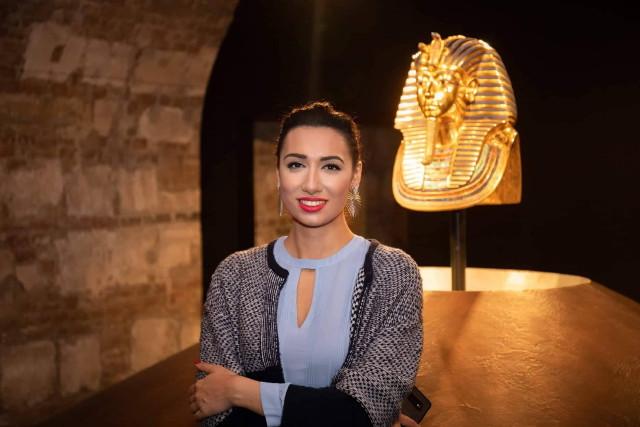Tutanhamon kiállítás - Oláh Zsuzsanna