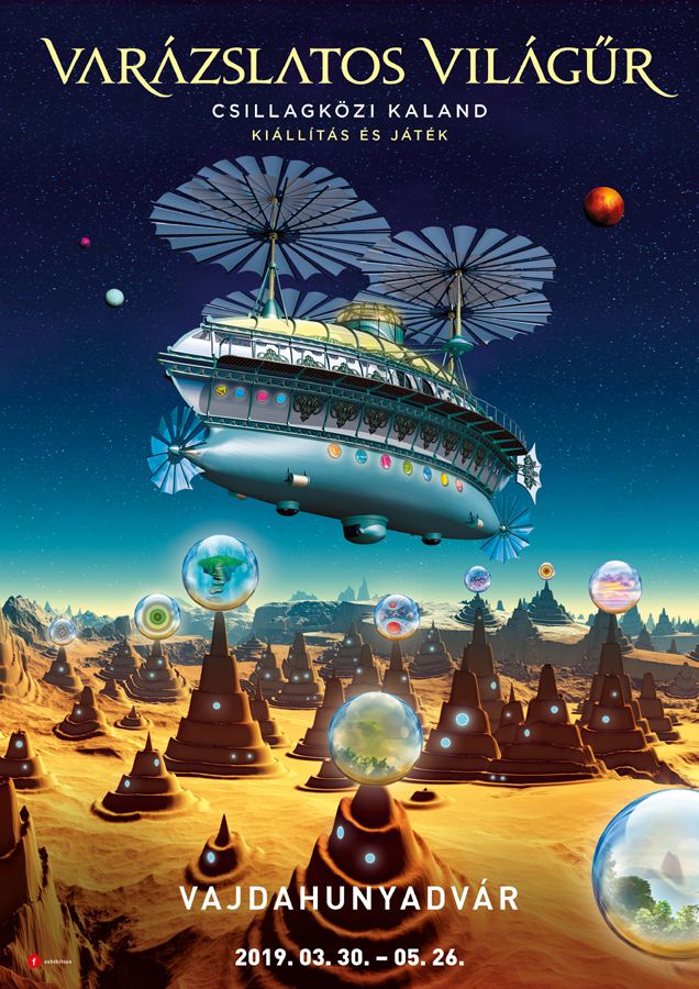 Varázslatos világűr plakát