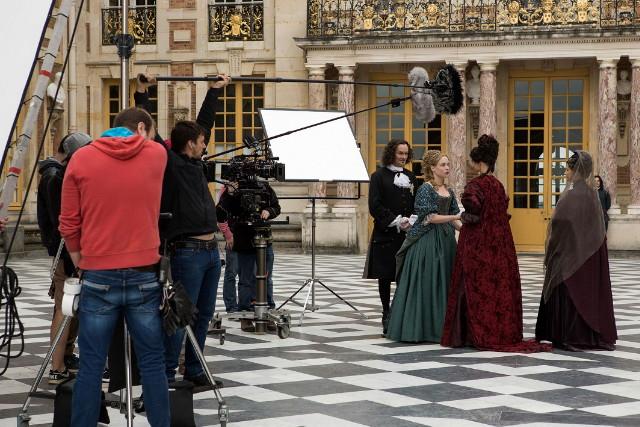 Versailles - forgatás