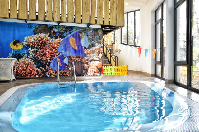 Oxigén Hotel - Wellness medence