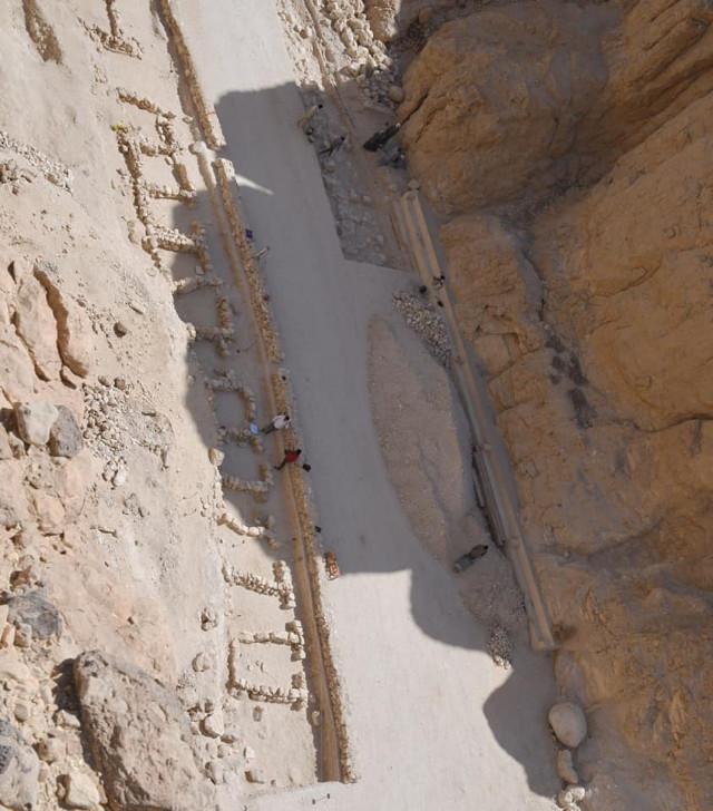 Az egyik legfontosabb felfedezés a völgyben egy ókori ipari terület