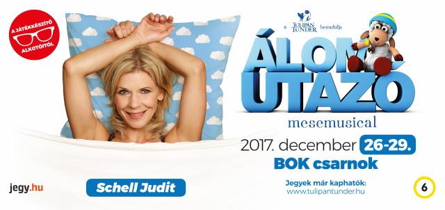 Álomutazó plakát - Schell Judit