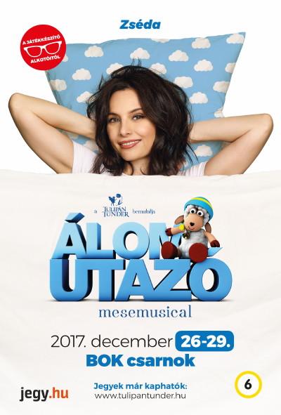 Álomutazó plakát - Zsédenyi Adrienn Zséda