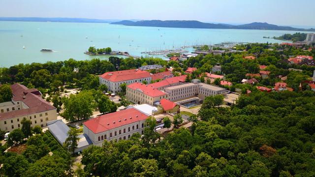 Anna Grand Hotel (drónfelvétel)