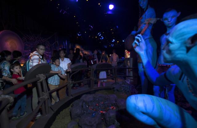 Avatar kiállítás - Na'vi
