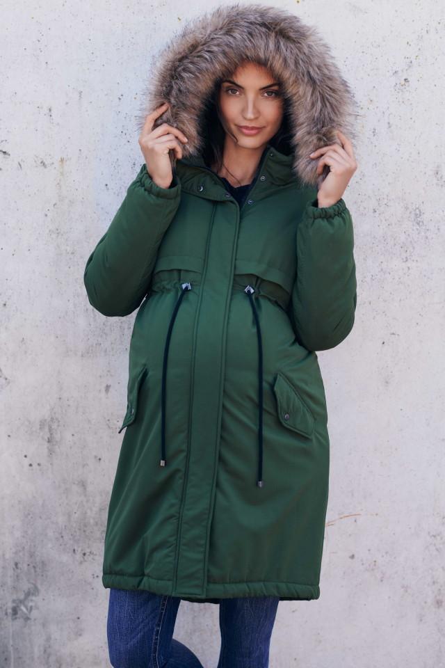 Kismamadivat - téli kabát