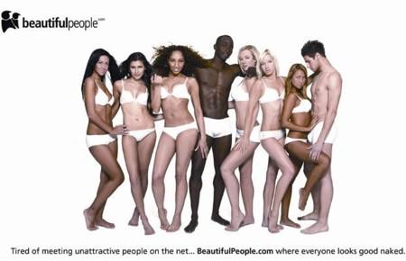 Gyönyörű emberek - csoportkép