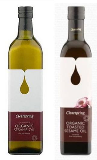 Clearspring Bio szezám olaj