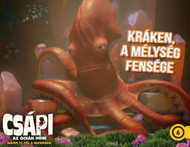 Csápi - Az óceán hőse - Kráken, a mélység fensége