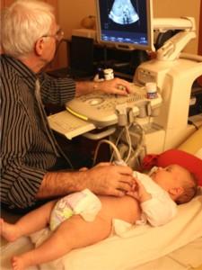 Csecsemő ultrahangos vizsgálat