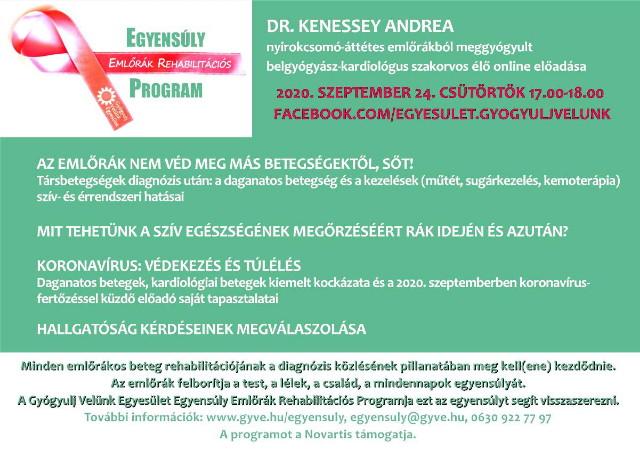 Egyensúly emlőrák rehabilitációs program 2020. szeptember 24.