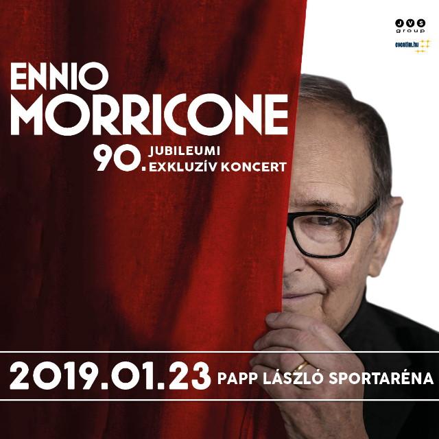 Ennio Morricone Budapesten