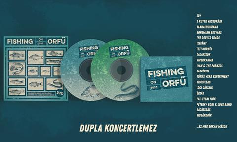 Fishing On Orfű 20 támogatás - Dupla koncertlemez